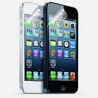 Защитная пленка Apple iPhone 5/5S 2шт прозрачная Tetded (на экран)