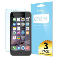 Защитная пленка Apple iPhone 6/6s Spigen Screen Protector Crystal (3 pcs of Front) прозрачная (SGP10927)