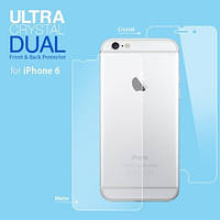 Защитная пленка Apple iPhone 6/6s Spigen Screen Protector Steinheil (2 Front&1 Back) прозрачная (SGP11586)