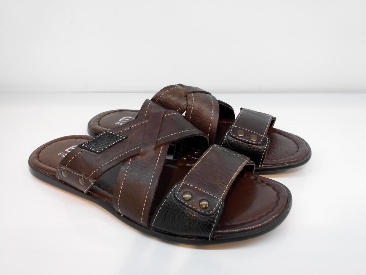 Шлепанцы Etor 578-3715-013 44 коричневые