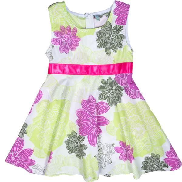 Красивое летнее платье для девочек