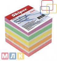 Skiper Блок бумаги для записей Люкс, 85мм*85 мм, 800 листов, неклеенные