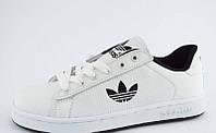 Кеды Adidas белые стильные