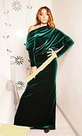 """Шикарное бархатное платье """"Ирис"""", 2 цвета , фото 1"""