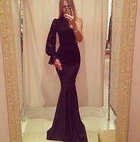 """Оригинальное платье """"Ирма"""", черный , фото 1"""