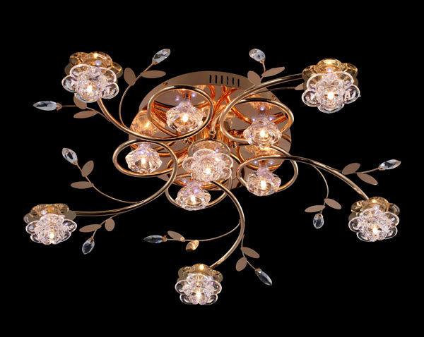 Роскошная люстра на 11 ламп