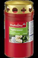 Profissimo Tagebrenner rot mit Deckel - Лампадка пластиковая со съемной крышкой, 50 часов горения, 1 шт
