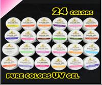 GD COCO Набор матовых цветных гелей, 5 мл. 24 шт