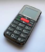 """Мобильный телефон """"Бабушкофон"""" MuPhone M7700 Black"""