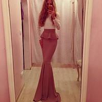 """Изысканное длинное платье """"Джина"""", 3 цвета (р-р универсальный), фото 1"""