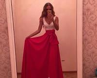 """Длинное платье """"Мармелад"""", 4 цвета (р-р универсальный), фото 1"""