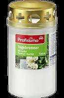 Profissimo Tagebrenner weiß mit Deckel -Лампадка со съемной крышкой, 50 часов горения, 1 шт