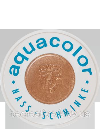 Бронзовый компактный аквагрим AQUACOLOR INTERFERENZ, 30 мл