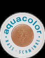 Бронзовый компактный аквагрим AQUACOLOR INTERFERENZ, 30 мл, фото 1