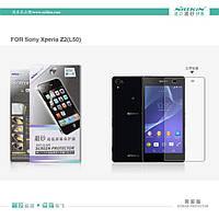 Защитная пленка Sony Xperia Z Ultra C6802 прозрачная Nillkin (подходит до Huawei G700-U10)