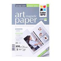 Бумага А4 5л ART глянцевый/фактура магнит 690г/м2 ColorWay (PGA690005MA4)