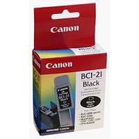 Картридж струйный Skyhorse Canon BCI-21 черный