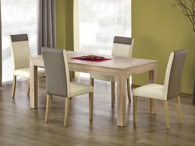 Стол обеденный деревянный SEWERYN дуб сонома Halmar