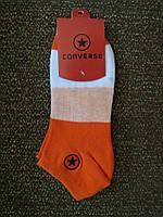 Носки Converse низкие, оранжевые