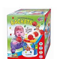 Развивающая игрушка детский Баскетбол напольный, свет, звук