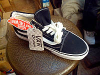 Кеды Vans Black Old Skool черые