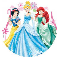 Вафельная картинка для тортов Принцесса 5