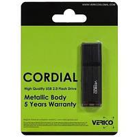Флеш память 64GB USB2.0 Verico Cordial Black (VP16-64GDV1E)