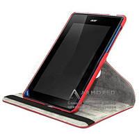 Чехол-Книжка Acer Iconia Tab B1 A71 TTX красный (360 градусов)