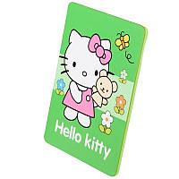 Чехол-Книжка Apple iPad Air детский Hello Kitty зеленый