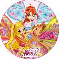 Вафельная картинка для тортов Принцессы Винкс 6