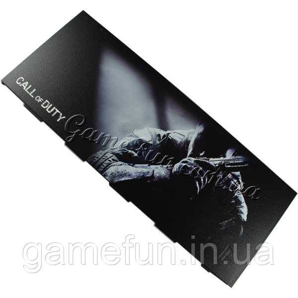Лицевая панель крышка отсека HDD Playstation 4 (PS4) Call of Duty (матовая) (Foxconn)