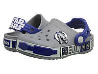 Кроксы детские Crocs Kids Crocband Star Wars R2D2 Звездные войны, фото 1