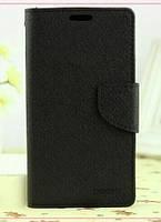 Чехол-Книжка для Alcatel 4024D One Touch Pixi Infinity BiColor черный