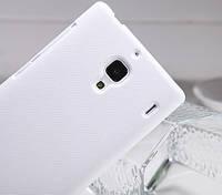 Накладка для Asus ZenFone 6 (A600CG) пластик Nillkin Matte белый (+ пленка)