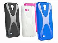 Накладка для Asus ZenFone 6 (A600CG) силикон New Line X-series Case синий