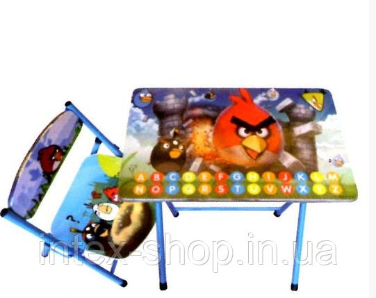 Набір дитячих меблів Angry Birds, фото 2