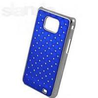 Накладка для HTC Desire 500 пластик Diamond Cover синий