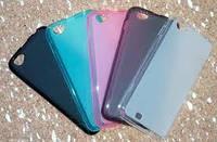 Накладка для HTC Desire 700 силикон розовый
