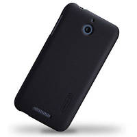 Накладка для HTC Desire 510 пластик Nillkin Matte черный (+ пленка)