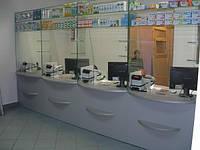 Мебель для аптек на заказ от производителя