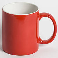 Чашка сублимационная Хамелеон КРАСНАЯ глянец