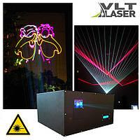Лазерный проектор для шоу (V поколение). Цветной, 6500мвт. Софт и контроллер. Наличие LAN, DMX, ILDA, SD