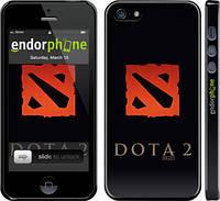Накладка для iPhone 5/5S пластик Endorphone Dota 2. Logo глянцевый (628c-18-308)