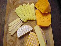 "МААСДАМ , РЕБЛОШОН , БАВРИЯ , ХАЛЛУМИ-сырная ""тарелка"" от Светланы."