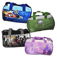 """Ранец-сумка """"TIGER"""" формы элипса, с тканевыми ручками, 4 вида"""