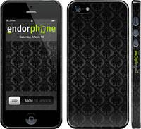 Накладка для iPhone 5/5S пластик Endorphone Барокко матовый (1608m-21-308)