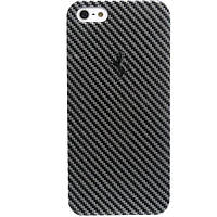 Накладка для iPhone 5/5S пластик Ferrari Hard Case Carbon Metallic Collection черный