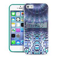 Накладка для iPhone 5/5S пластик PURO JUST CAVALLI Wild Mandala Green (JCIPC5MANDALAGRN)