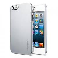 Накладка для iPhone 5/5S пластик SGP Case Ultra Thin Air Series серый (SGP09538)