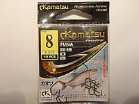 Крючки Kamatsu оригинал funa 8 (карась, лещ, плотва)